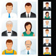 Various Business People Set - GraphicRiver Item for Sale