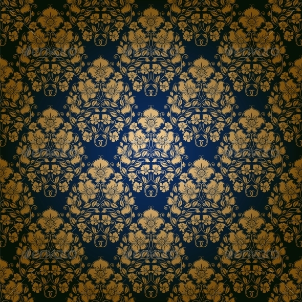 GraphicRiver Damask Seamless Floral Pattern 4249413