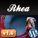 Rhea For Photography Creative Portfolio - ThemeForest Item for Sale