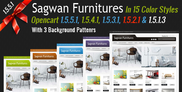 Sagwan Furniture's Opencart Theme - OpenCart eCommerce