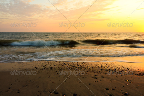 Ocean Waves - Stock Photo - Images