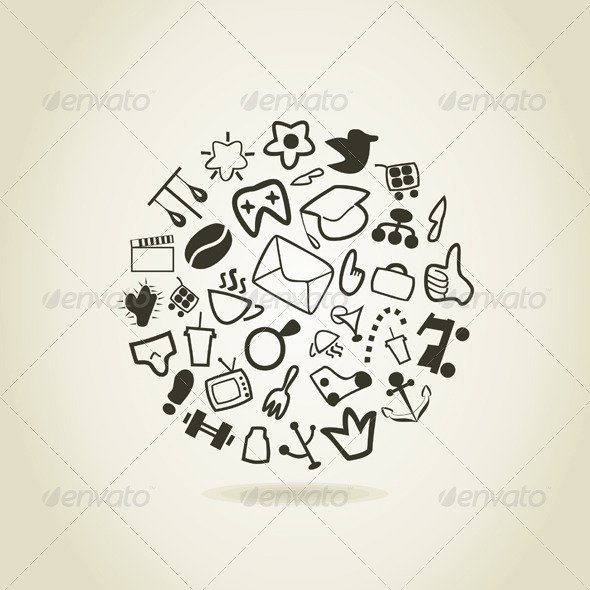GraphicRiver Abstract Drawing 4251523