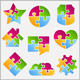Puzzle Objects - GraphicRiver Item for Sale