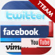 Social Media - Info Boxes - VideoHive Item for Sale