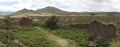 Panorama of ancient wall built by Wari people and countryside landscape - PhotoDune Item for Sale
