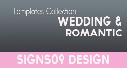 Wedding and Romantic Templates - Happy events