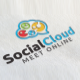 Social Cloud Logo - GraphicRiver Item for Sale