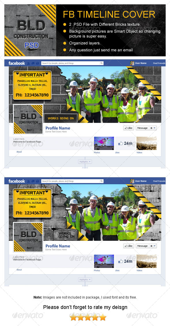 GraphicRiver Building Construction Fb Timeline Cover 4176653