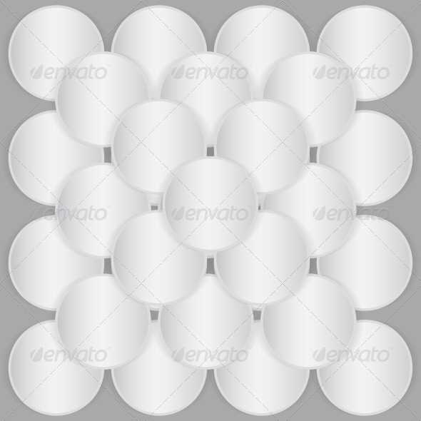 GraphicRiver White Circle Paper Sheets 4256307