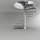 Ladder for Interior Design - 3DOcean Item for Sale
