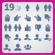 19 AI and PSD User strict Icons - GraphicRiver Item for Sale