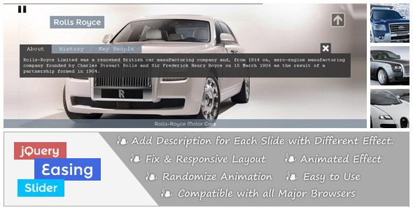 CodeCanyon jQuery Easing Slider 4223962
