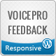 VoicePro, Instant Ajax Feedback Form for WordPress - CodeCanyon Item for Sale