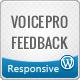 VoicePro, immediato Ajax Feedback Form per WordPress - WorldWideScripts.net articolo in vendita