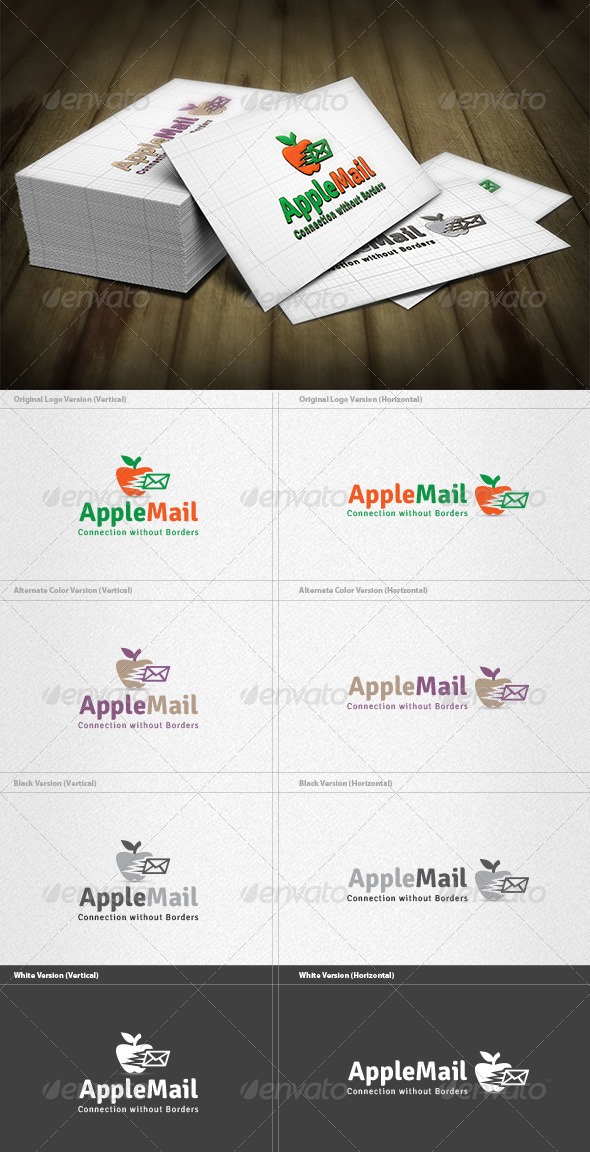 GraphicRiver Apple Mail Logo 4262030