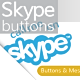 Skype Buttons - GraphicRiver Item for Sale