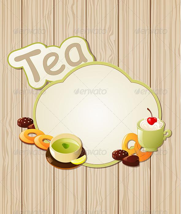 GraphicRiver Tea Label 4262289