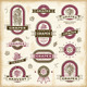 Vintage Grapes Labels Set - GraphicRiver Item for Sale