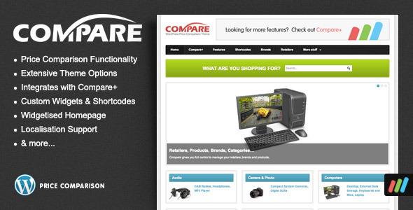 Compare - Price Comparison Theme for WordPress - ThemeForest Item for Sale