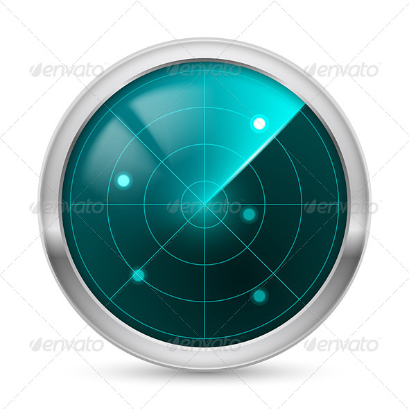 GraphicRiver Radar Icon 4263582