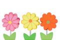 Three Color Wooden Flowers - PhotoDune Item for Sale