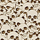 Human Skulls Seamless Background - GraphicRiver Item for Sale