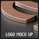 Realistic Logo Mock Up - GraphicRiver Item for Sale
