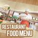 Restaurant Food Menu Templa-Graphicriver中文最全的素材分享平台