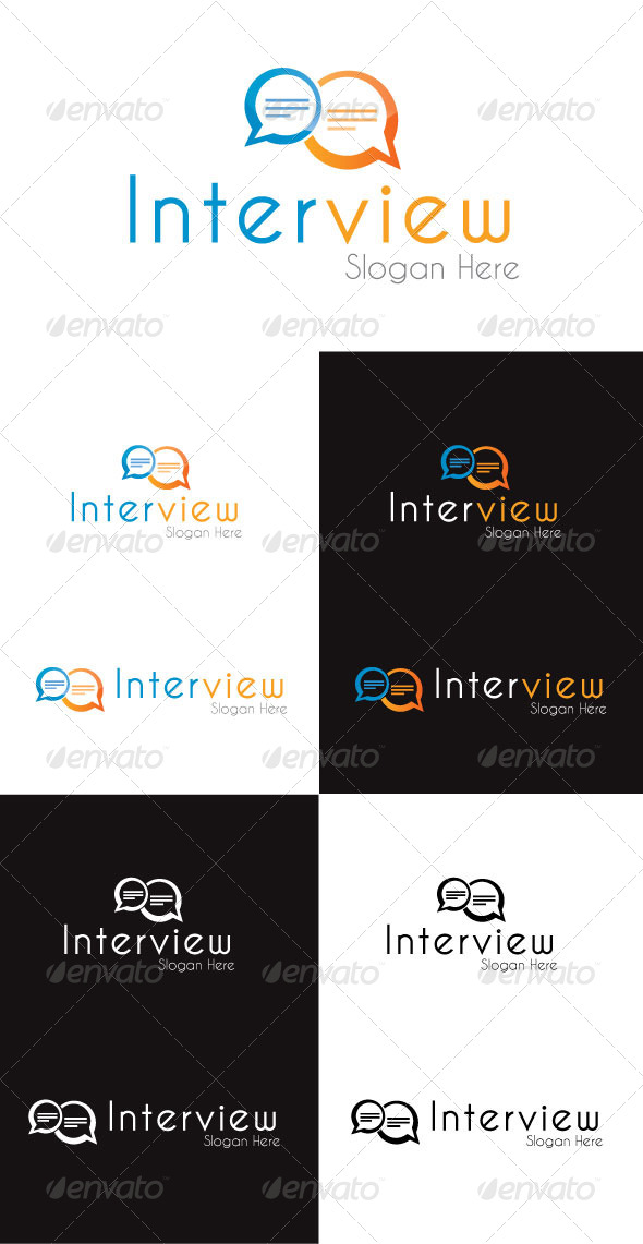 GraphicRiver interview Logo Template 4130073