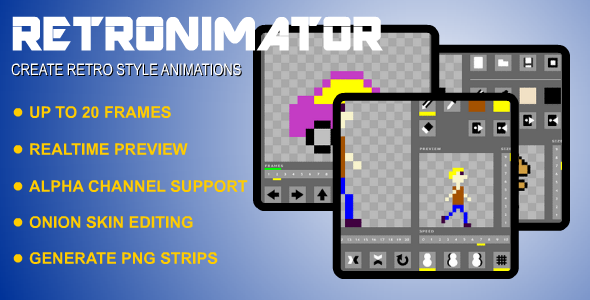 CodeCanyon Retronimator Animation Creator 4265447