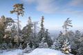 Top of mountain under snow - PhotoDune Item for Sale