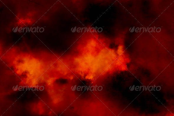 Fires of Hell - Stock Photo - Images