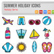 16 Summer Holiday Icons - GraphicRiver Item for Sale