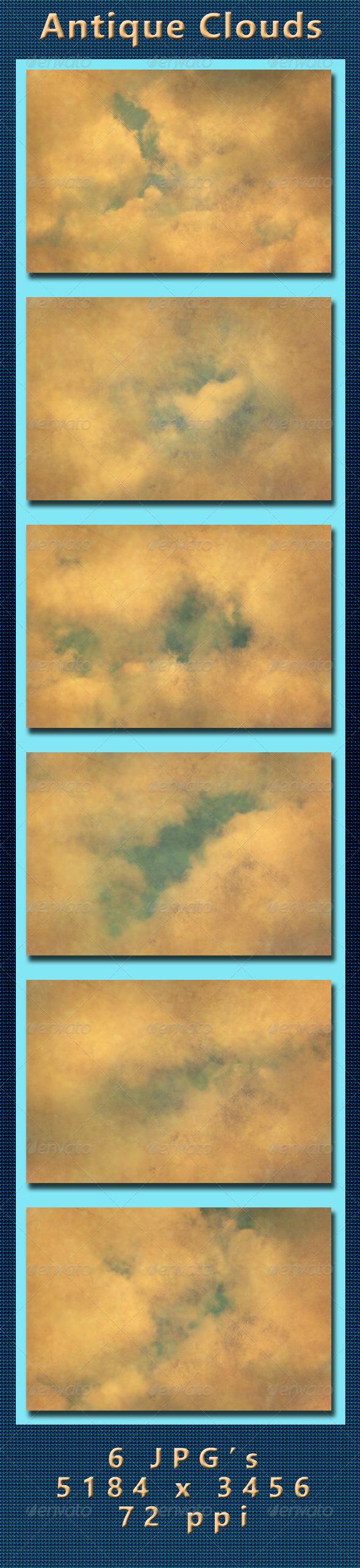 GraphicRiver Antique Clouds 4266315