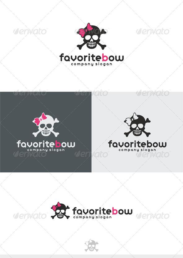 GraphicRiver Favorite Bow Logo 4266731