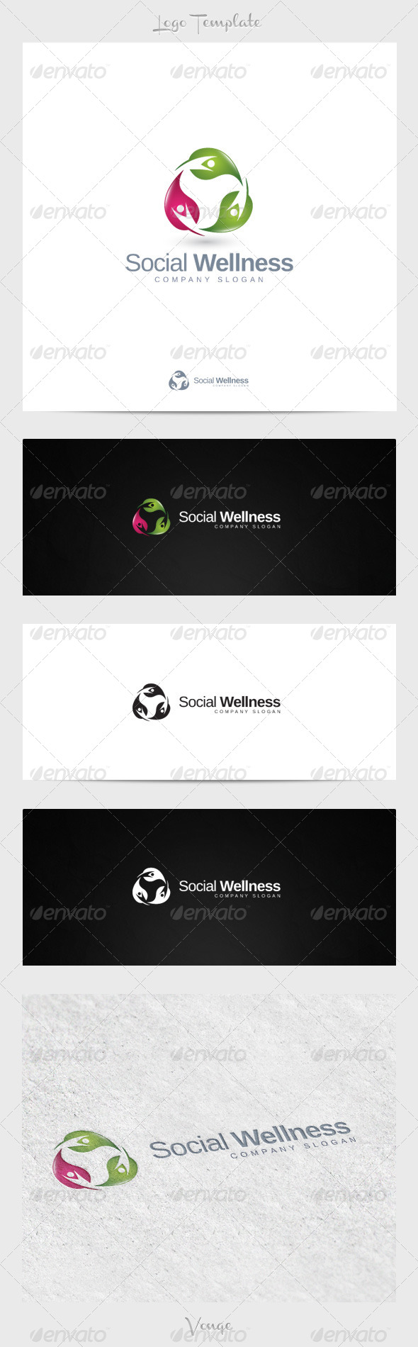 GraphicRiver Social Wellness 4267056