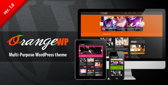 OrangeWP Magazine Theme - Personal Blog / Magazine