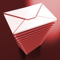 Envelopes Shows E-mail Message Inbox Mailbox - PhotoDune Item for Sale