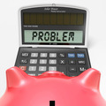 Problem Calculator Shows Solving Questions With Solutions - PhotoDune Item for Sale