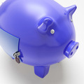 Piggybank With Closed Door Showing Financial Security - PhotoDune Item for Sale
