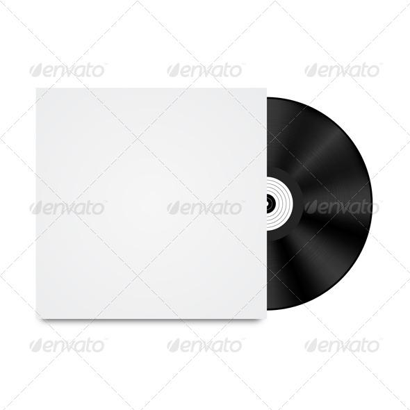 GraphicRiver Vinyl Disk 4271400