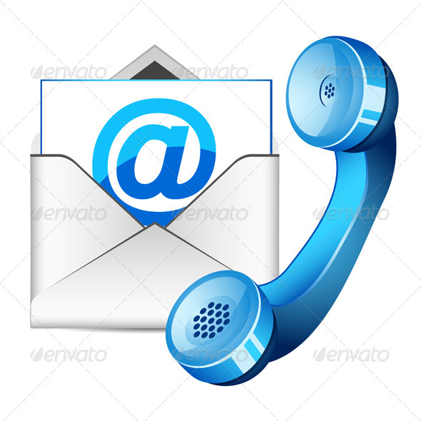 GraphicRiver Contact Us Icon 4271480
