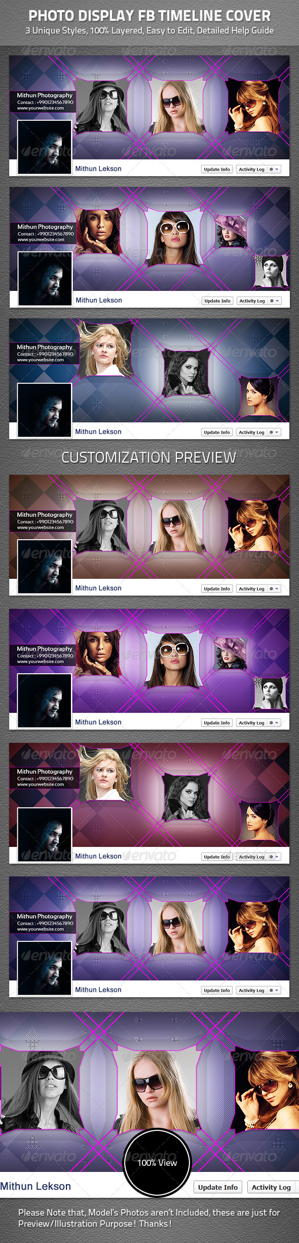 Photo Display Facebook Timeline Cover - Facebook Timeline Covers Social Media