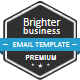 Brighter Business Email Template - ThemeForest Item for Sale