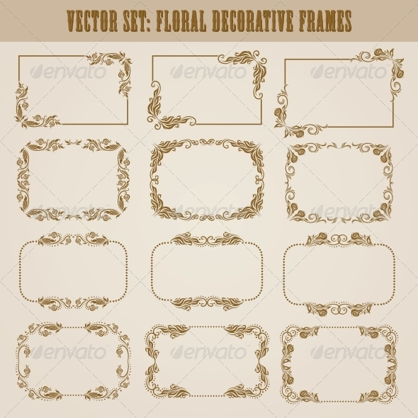 GraphicRiver Decorative Frames 4272125