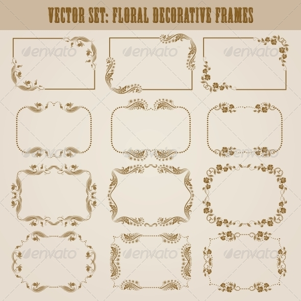 GraphicRiver Decorative Frames 4272132