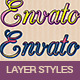 33 Colorful Layer Styles - GraphicRiver Item for Sale