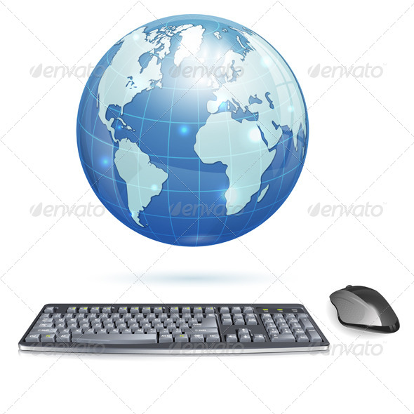 GraphicRiver Global Computing Concept 4272273