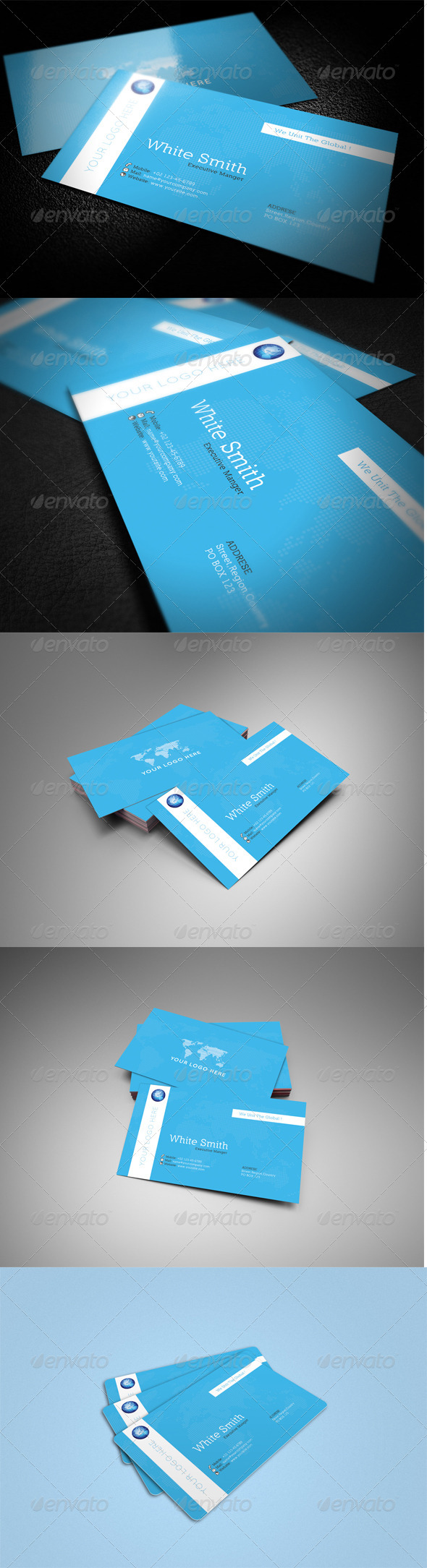 Global Business Card  - Corporate Business Cards