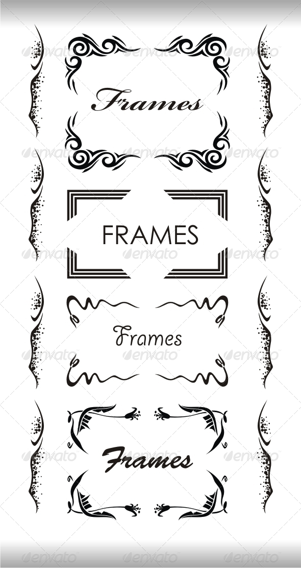 GraphicRiver Frames 4176335